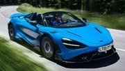 McLaren 765 LT Spider (2021) : ça décoiffe!