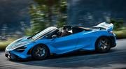 McLaren 765LT Spider (2021) : 372 500 € pour le roadster extrême