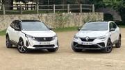 Comparatif vidéo : Peugeot 3008 VS Renault Arkana : duel tricolore