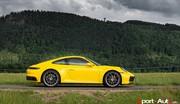 Essai Porsche 911 (992) Carrera