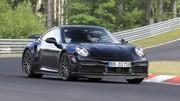 Porsche 911 Turbo E-Hybrid (2024) : un prototype aperçu en Allemagne