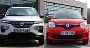 Dacia Spring ou Renault Twingo : laquelle choisir ?