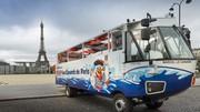 Paris : Visitez la capitale à bord de Marcel le bus amphibie