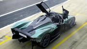 L'Aston Martin Valkyrie enlève le haut