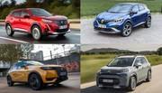 Captur, 2008, C3 Aircross, DS 3 Crossback : quel petit SUV français consomme vraiment le moins ?