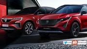 Futur Peugeot 3008 2023 vs futur Renault Kadjar 2022 : premier duel