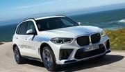 BMW iX5 Hydrogen (2022) : de sortie sur le salon de Munich 2021