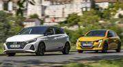 Essai comparatif : la Hyundai i20 N Line défie la Peugeot 208 GT Pack
