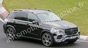 Mercedes GLE : le modèle restylé débusqué sur le Nürburgring