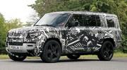 Land Rover Defender 130 : la version longue en fuite