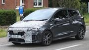 Ford Fiesta restylée (2022) : la citadine aperçue sous un camouflage léger