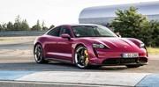 Porsche Taycan (2022) : une poignée de mises à jour pour la sportive électrique