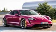 Mise à jour en couleur pour la Porsche Taycan 2022