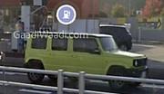 Suzuki Jimny (2022) : La version 5 portes sans camouflage