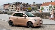 Essai Fiat 500 e 3+1 : Porte dérobée