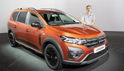 Dacia Jogger (2022) : Bienvenue à bord de la Sandero break à 7 places !
