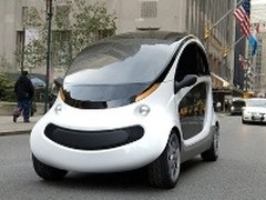 Peapod NEV : la petite voiture électrique selon Chrysler