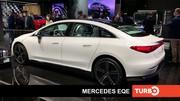 Mercedes EQE, présentation en direct du salon de Munich 2021