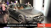 Mercedes Classe C All-Terrain, présentation en direct du Salon de Munich 2021