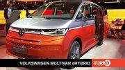 Volkswagen Multivan T7 eHybrid : présentation en direct du Salon de Munich 2021