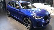 BMW X3 restylé : sobre mais efficace