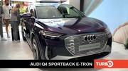 Audi Q4 Sportback e-tron, présentation en direct du salon de Munich 2021