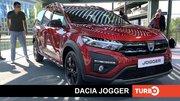 Dacia Jogger, présentation en direct du Salon de Munich 2021