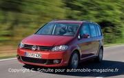 Volkswagen Touran restylé : Le Touran change de visage