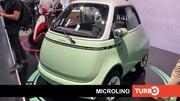 Microlino, présentation en direct du Salon de Munich 2021 de cette petite électrique