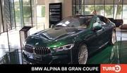 BMW Alpina B8 Gran Coupé, présentation en direct du salon de Munich 2021