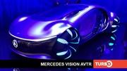 Mercedes Vision AVTR, découverte en direct du salon de Munich 2021