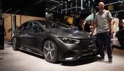 Mercedes EQE (2022) : À bord de la la mini-limousine électrique