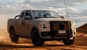 Le prochain Ford Ranger s'annonce en vidéo