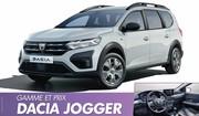 Dacia Jogger (2022) : Prix, moteurs et équipements du break SUV