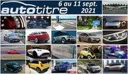 Résumé Auto Titre du 6 au 11 septembre 2021
