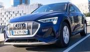 Essai Audi e-tron Sportback 55 : Taillé pour le sprint, pas le marathon