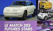 Fiat Centoventi - Renault 5 - VW ID Life. Trois électriques à 20 000 €