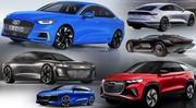 Nouvelles Audi : tous les futurs modèles jusqu'en 2025
