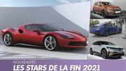 Nouveautés autos : Les stars du second semestre 2021