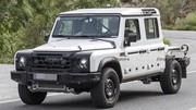 Ineos Grenadier pick-up (2023) : L'utilitaire tout-terrain débusqué
