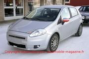 Fiat Grande Punto restylée : La Grande Punto revoit son minois