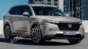 Première illustration du futur SUV Honda CR-V