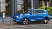 MG ZS EV : facelift et autonomie accrue