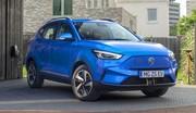 MG ZS EV restylé : autonomie en forte hausse