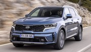 Grand SUV Kia Sorento : une nouvelle version hybride fait son entrée