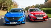 Essai comparatif : la nouvelle Peugeot 308 défie la BMW Série 1