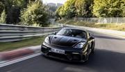 La Porsche Cayman GT4 RS a déjà fait un chrono sur le Nürburgring