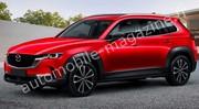 Première illustration du futur SUV Mazda CX-60