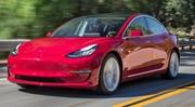 La Tesla Model 3 en tête des ventes en Europe