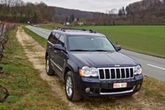 Essai Jeep Grand Cherokee 3.0 CRD Overland FAP bva5 - 211 cv
